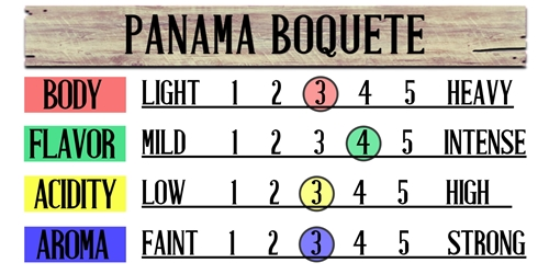 Panama Boquete Fresh Coffee Beans